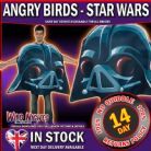 Mens Adult ~ Star Wars Angry Bird Darth Vader Fancy Dress Costume